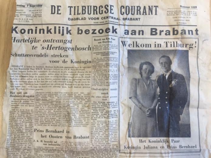 De krant uit 1949.