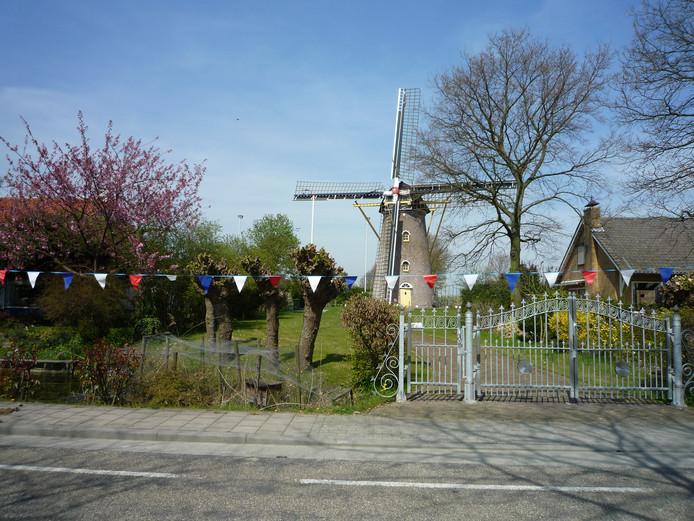 De Koutermolen in Hoedekenskerke.