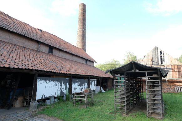 De site van de vzw Emabb, een van de vele erfgoedparels in de Rupelstreek.