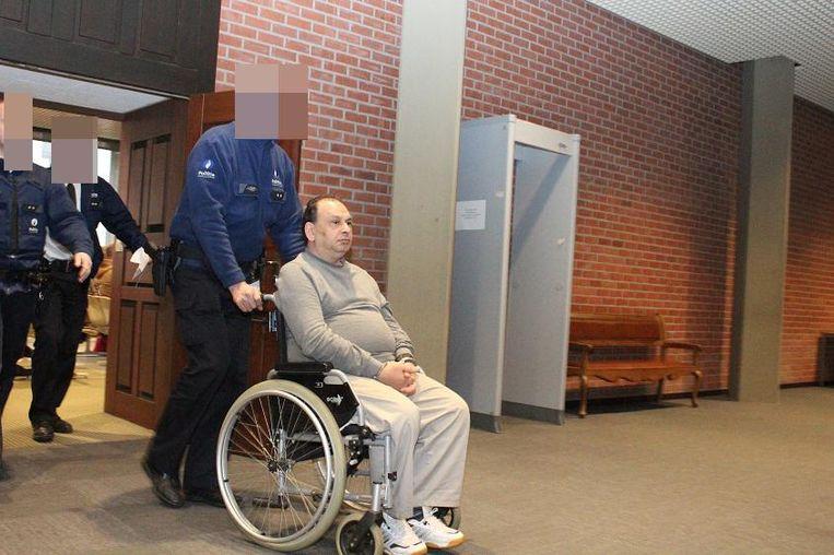 El Sayed 'Mike' Farag (62) na zijn veroordeling tot 20 jaar gevangenisstraf in Brugge.