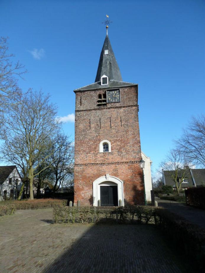 Protestantse kerk in Uitwijk.