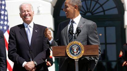 'Bromance' nog niet voorbij: Obama verrast Biden met grappige tweet op verjaardag