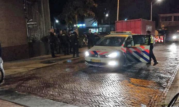 Onrust in het centrum van Hardenberg afgelopen nacht. Twee mannen werden aangehouden.