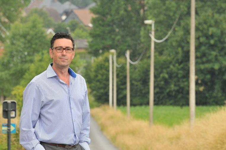 Burgemeester Stefaan Devleeschouwer.