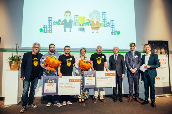 Lazuur won twee Matexi Awards.