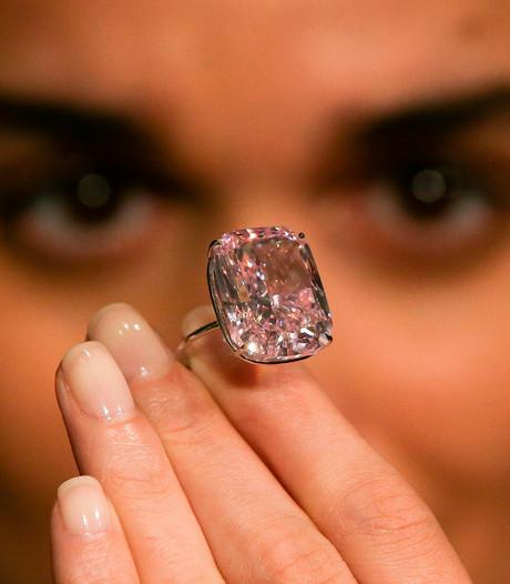 Exclusief: De grootste roze diamant ter wereld
