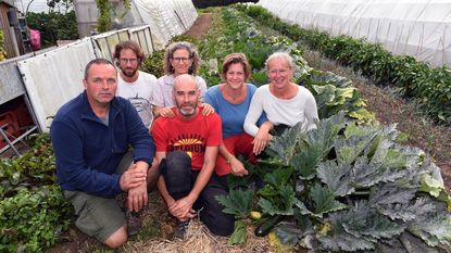 Mensen leren over Community Supported Agriculture