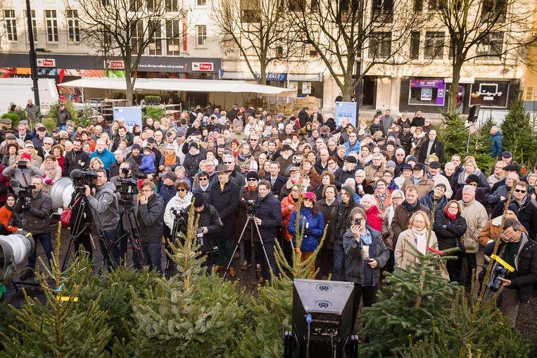 Er kwam heel wat volk kijken naar de aftrap van de eerste Week van het Gents.