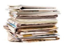 Ook in zomer oud papier ophalen in De Ronde Venen