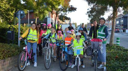 Fietspool op Strapdag stimuleert leerlingen om per fiets naar school te komen