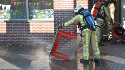Goudvis veroorzaakt brandje in kleuterschool
