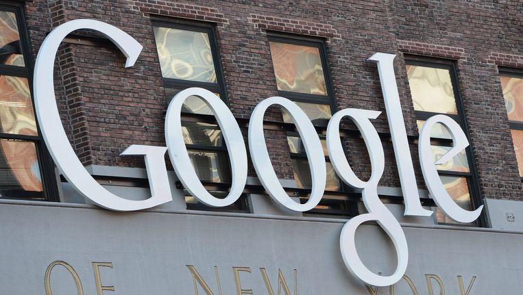 Het kantoor van Google in New York. Beeld anp