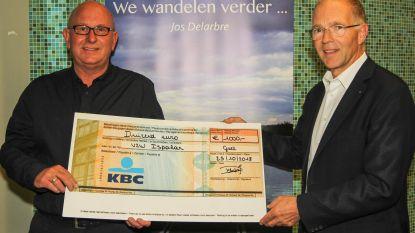 Palliatieve thuiszorg Ispahan ontvangt cheque