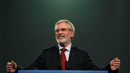 Sinn Féin-leider Gerry Adams stapt na bijna 35 jaar op als partijvoorzitter