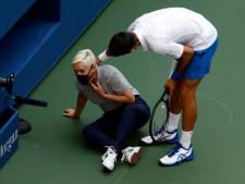 """Disqualifié après un geste d'humeur Djokovic réagit sur Instagram: """"Si involontaire, si mal"""""""