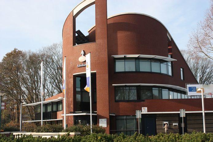 De oude Rabobank aan de Horst in Kaatsheuvel staat al een poos te koop.