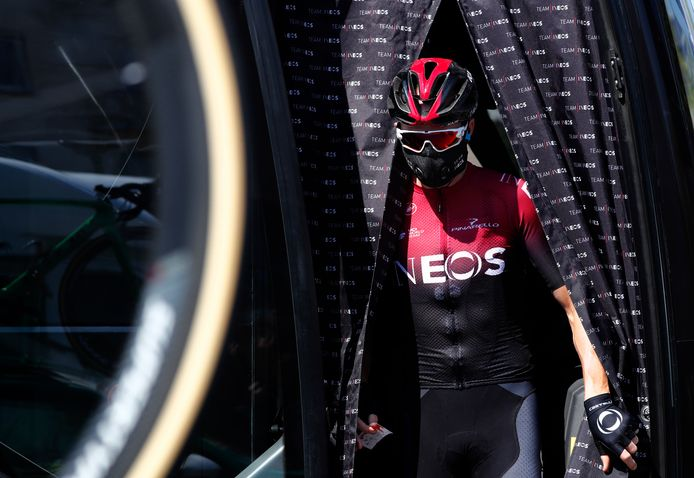Chris Froome van Team Ineos.