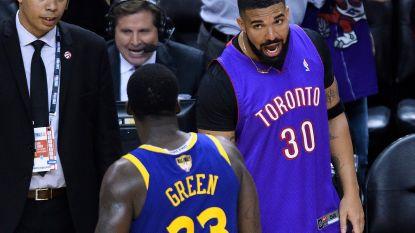 Drake neus aan neus met Green na trashtalk, waarna rapper ook via sociale media uithaalt