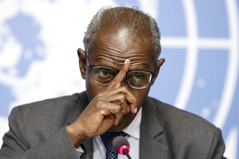 Yemane Gebreab, adviseur van de president. Beeld epa