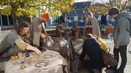 Galliërs veroveren gemeenteschool