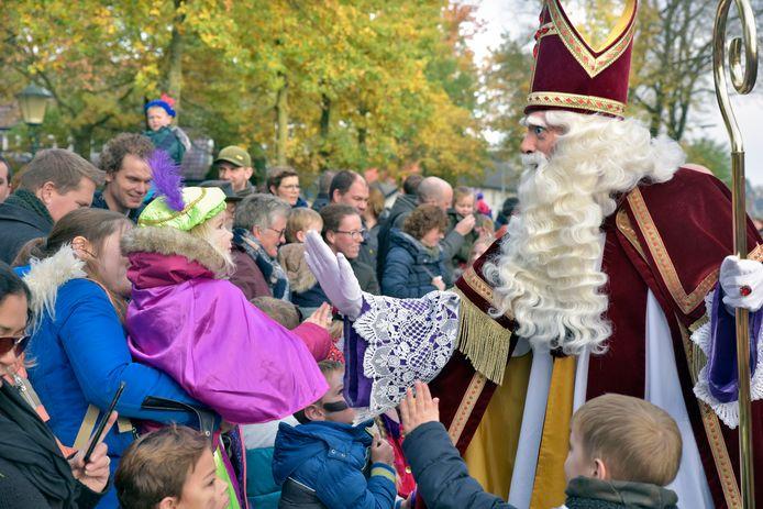 Nederland, Wijchen, 17-11-2019Aankomst Sinterklaas in Wijchen. Foto: Flip Franssendgfoto