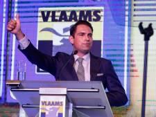 Tom Van Grieken réélu président du Vlaams Belang