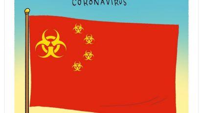 Chinezen kunnen niet lachen met coronacartoons