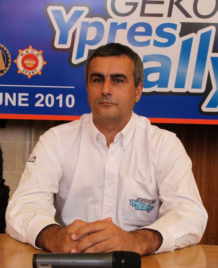 Voorzitter van Club Superstage Alain Penasse.