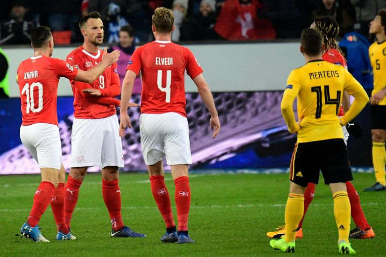België werd net voor de halve finales verrassend uitgeschakeld door Zwitserland (5-2).
