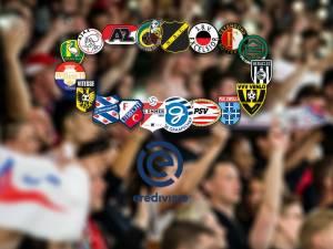 Eredivisie: uitslagen, programma en stand