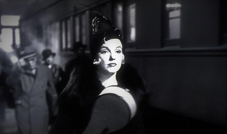 Marilyn Monroe in Some Like it Hot (1959) van Billy Wilder Beeld null