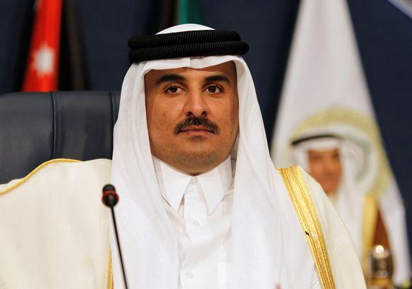 Sjeik Tamim bin Hama al-Thani van Qatar.