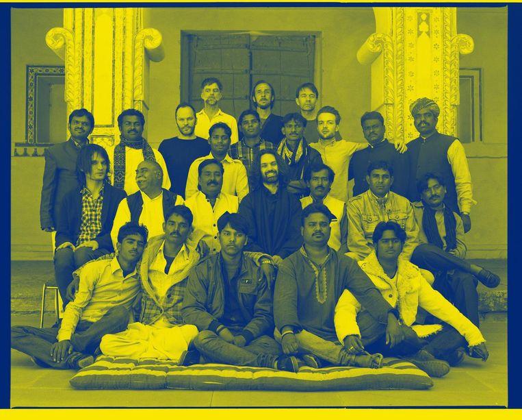 'Dit orkest van Indiase muzikanten staat garant voor even weelderige als betoverende wereldmuziek.' Beeld