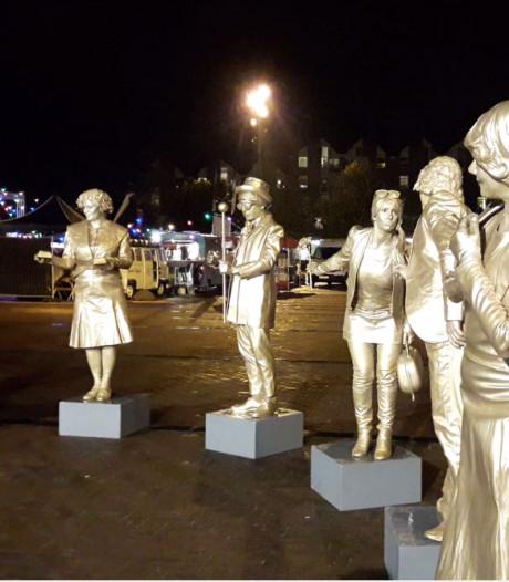 Levende standbeelden komen voor 40.000 euro naar Ede