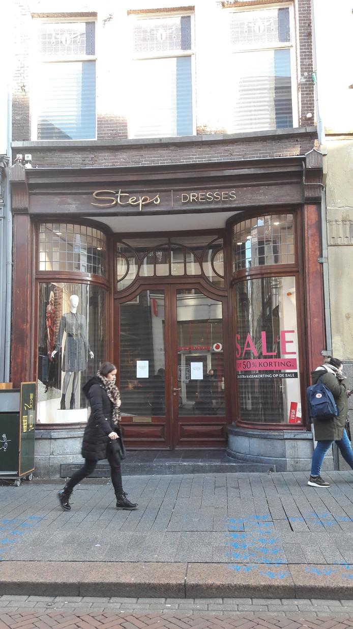 Op de dag dat Steps aankondigde dat de winkels dichtgingen, zat het filiaal in Den Bosch ook dicht