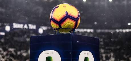 Serie A maakt speeldata bekend: herstart op zaterdag 20 juni, direct gevolgd door midweekse speelronde