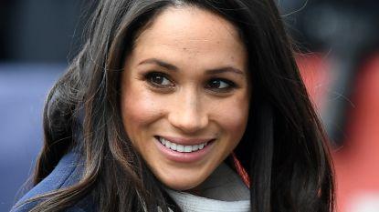 Meghan Markle verschijnt voor het eerst op balkon Buckingham Palace