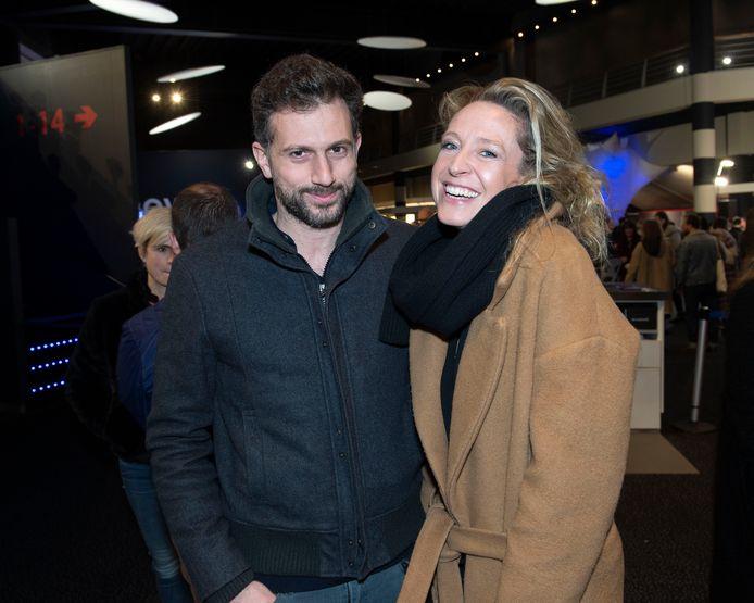 Cath Luyten met haar partner Eshref.