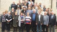 75-jarigen op de koffie bij het stadsbestuur