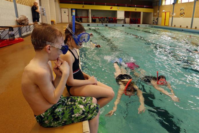 Het huidige Fitland-bad in Gemert is  dringend aan vervanging toe. archieffoto Van de Meulenhof