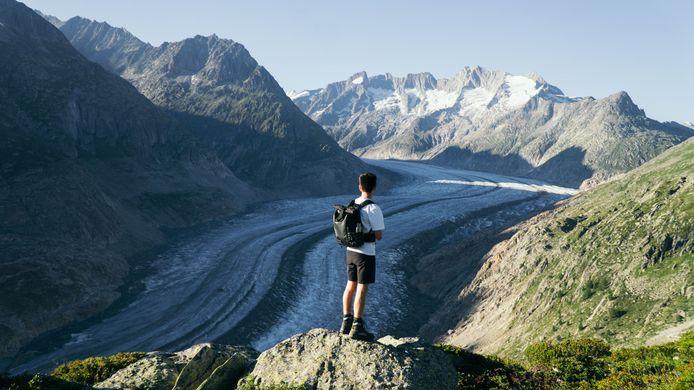 Marciano Hendriks (Lobith) en Jesse Dercks (Duiven, foto) willen een documentaire maken over de Alpen.