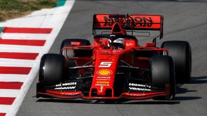 Vettel troeft wereldkampioen Hamilton af op laatste testdag in Barcelona