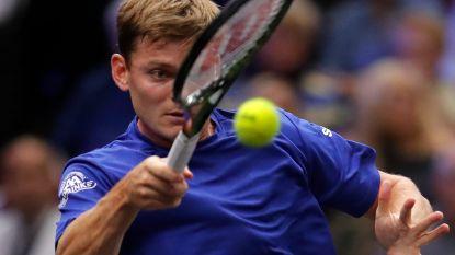 Goffin in twee sets onderuit tegen Andy Murray