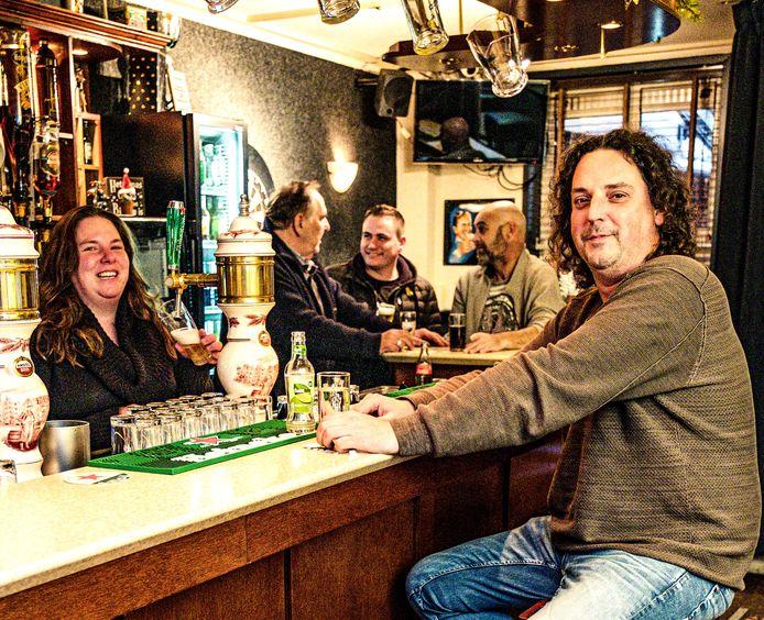 Cafébaas Gerco de Heer. Foto uit januari 2020.