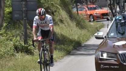 Ritwinnaar Gaviria verlaat Giro met kniepijn