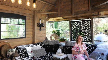 Vakantiestek in eigen tuin