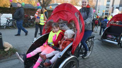 Tiende Gentse Schoolstraat in Hazenakker en Ooievaarsnest in Gentbrugge