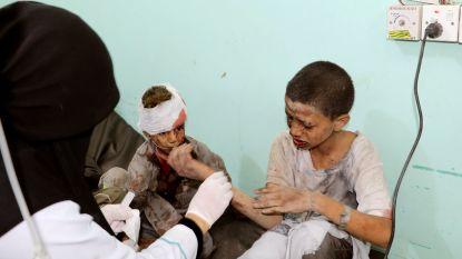 Zeker 50 doden bij luchtaanval op bus met kinderen in Jemen