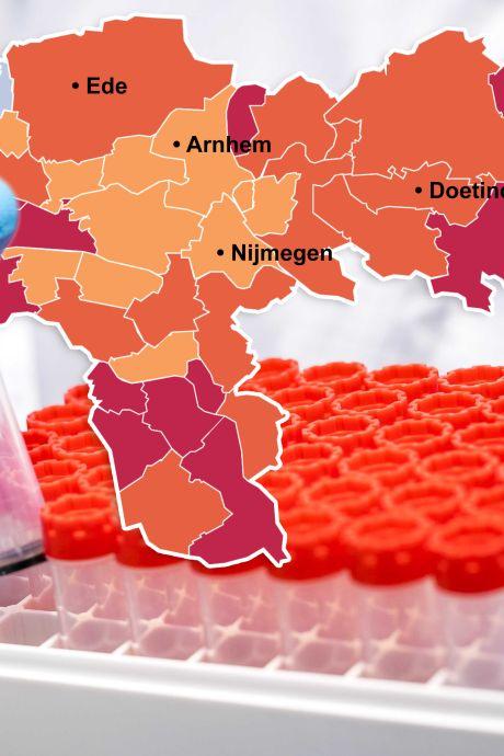 CORONAKAART | De besmettingscijfers dalen! Vooral goed nieuws uit Mook en Renkum