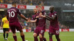 15 goals in 3 matchen: Man City en De Bruyne halen opnieuw de sloopkogel boven (0-6)